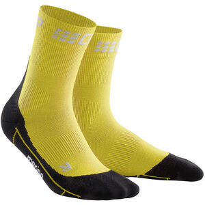 cep Winter Short Socks Herren yellow/black yellow/black