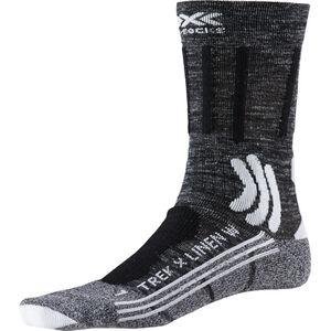 X-Socks Trek X Linen Socks Damen dolomite grey melange/opal black dolomite grey melange/opal black