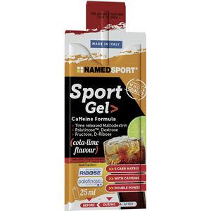 NAMEDSPORT Sport Energy Gel Box 15x25ml Cola Lime