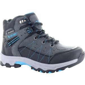 Hi-Tec Shield WP Shoes Kinder dark grey/black/lake blue dark grey/black/lake blue
