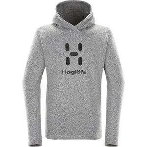 Haglöfs Swook Logo Hood Herren concrete concrete