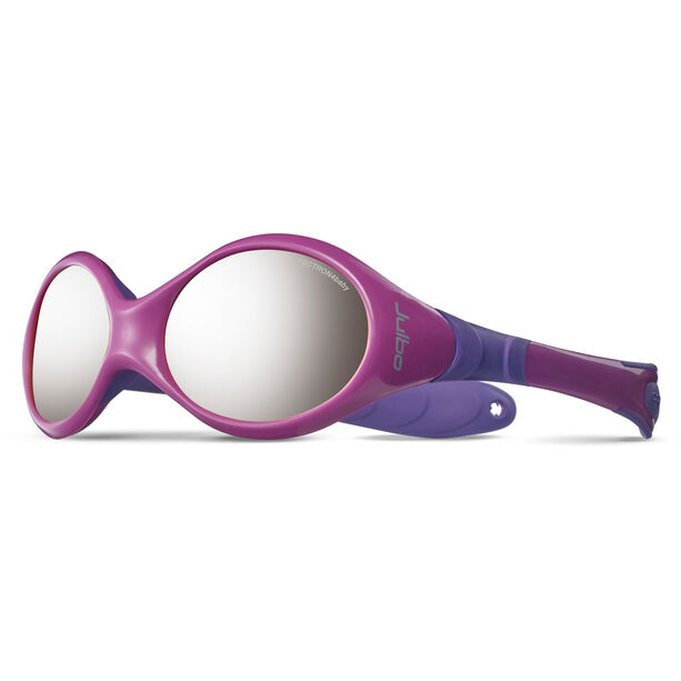 Julbo Looping III Spectron 4 Sunglasses 2-4Y Kinder pink/purple-gray flash silver