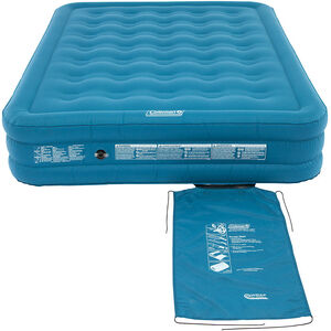 Coleman Extra Durable Luftbett Raised Double blau blau