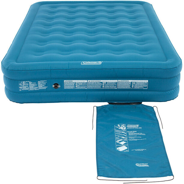 Coleman Extra Durable Luftbett Raised Double blau