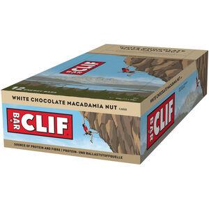 CLIF Bar Energy Riegel Box 12x68g White Chocolate Macadamia Nut