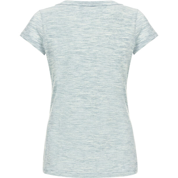 super.natural Digital Graphic 140 T-Shirt Damen denim bleach melange/balance print