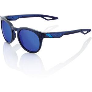 100% Campo Glasses polished translucent blue | mirror polished translucent blue | mirror