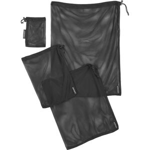 Cocoon Mesh Stuff Sack 4er-Set black