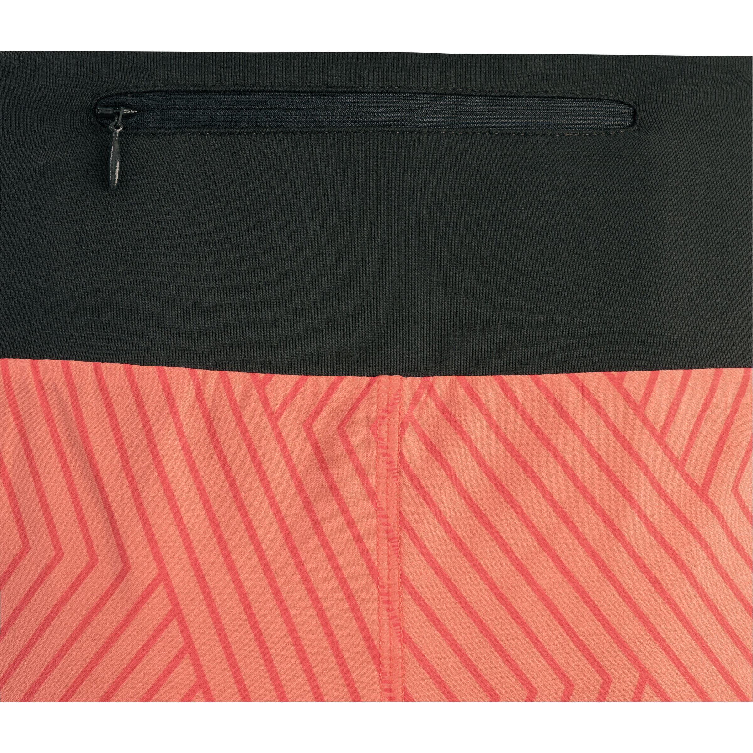 GORE WEAR R5 Shorts Damen print coral glowterra grey