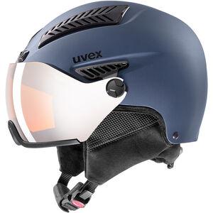 UVEX hlmt 600 Visor Helm blue mat blue mat