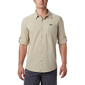 Columbia Triple Canyon Solid Langarmshirt Herren fossil fossil