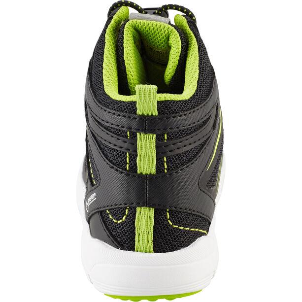 Kamik Fury HI GTX Shoes Kinder black/lime