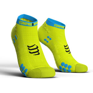 Compressport Pro Racing V3.0 Run Low Socks fluo yellow fluo yellow