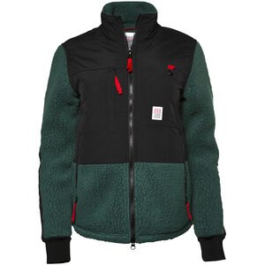 Topo Designs Subalpine Fleecejacke Herren black/forest black/forest