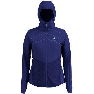 Odlo Millenium S-Thermic Jacke Damen clematis blue clematis blue