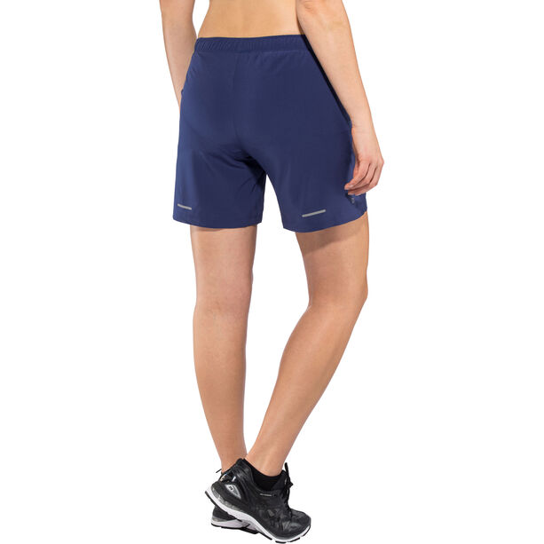 "asics 7"" Shorts Damen indigo blue"