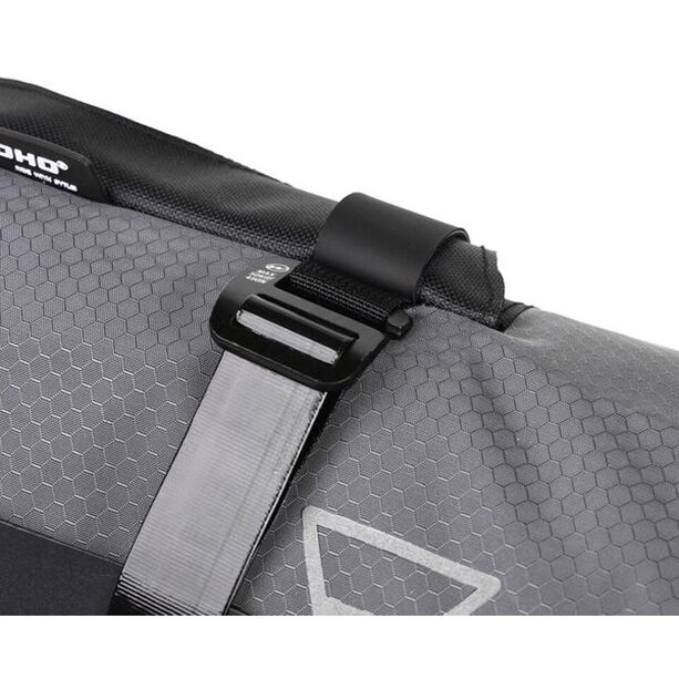 WOHO X-Touring Handlebar Dry Bag honeycomb iron grey
