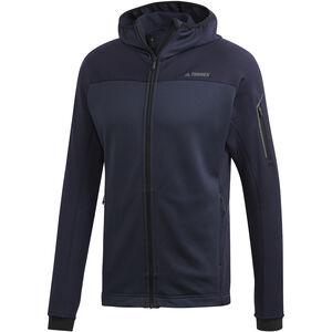 adidas TERREX Stockhorn Hooded Fleece Jacket Herren legend ink legend ink