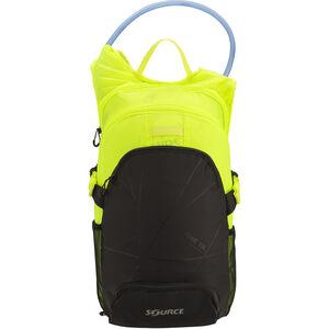 SOURCE Fuse Trinkrucksack 3+9l black/florescent yellow black/florescent yellow