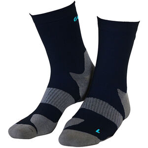 Gococo Technical Cushion High Wool Socks black black