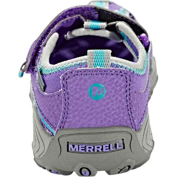 Merrell Hydro H2O Hiker Sandals Mädchen purple/grey