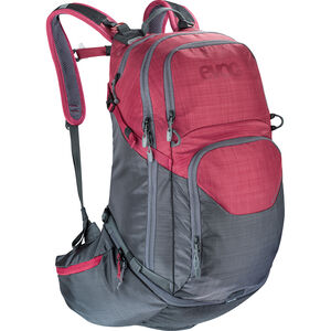 EVOC Explr Pro Technical Performance Pack 30l heather carbon grey/heather ruby heather carbon grey/heather ruby