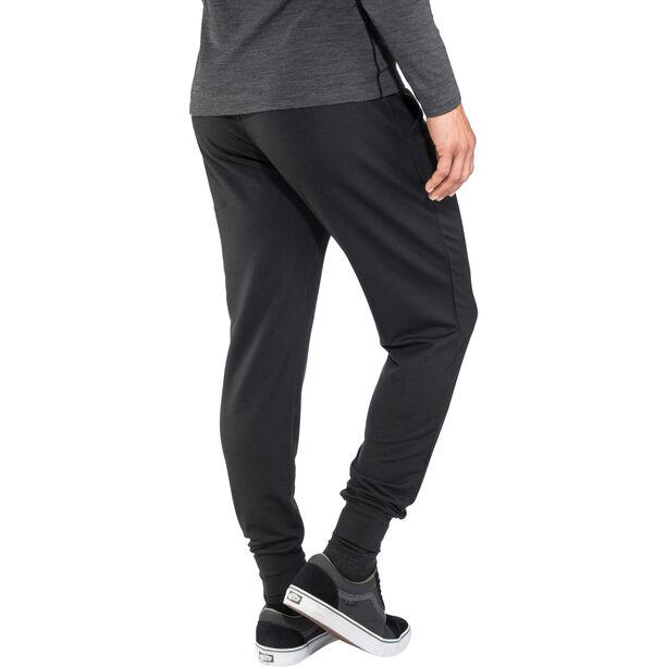 super.natural Essential Cuffed Pants Herren jet black