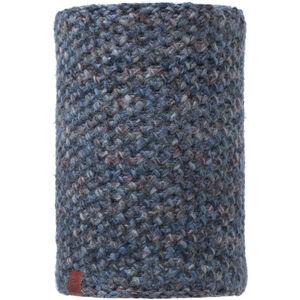 Buff Lifestyle Knitted and Polar Fleece Margo Neckwarmer blue blue