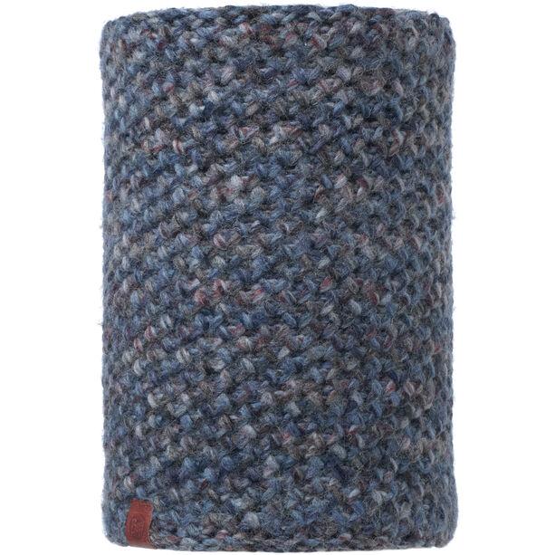 Buff Lifestyle Knitted and Polar Fleece Margo Neckwarmer blue