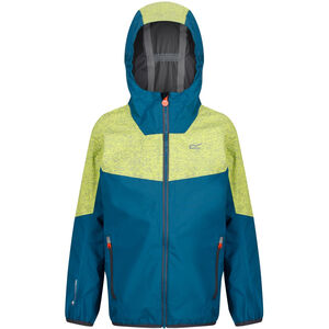 Regatta Deviate II Jacke Jungen sea blue/lime punch reflective sea blue/lime punch reflective