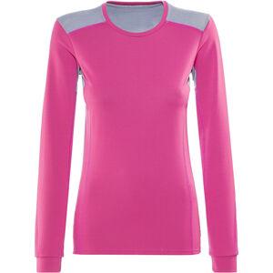 Norrøna Falketind Super Wool Shirt Damen Grafitti Pink Grafitti Pink