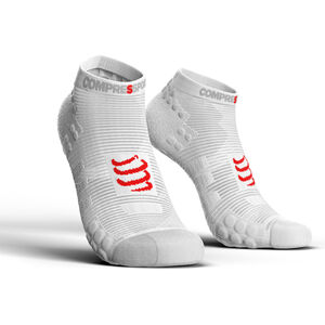 Compressport Pro Racing V3.0 Run Low Socks white white