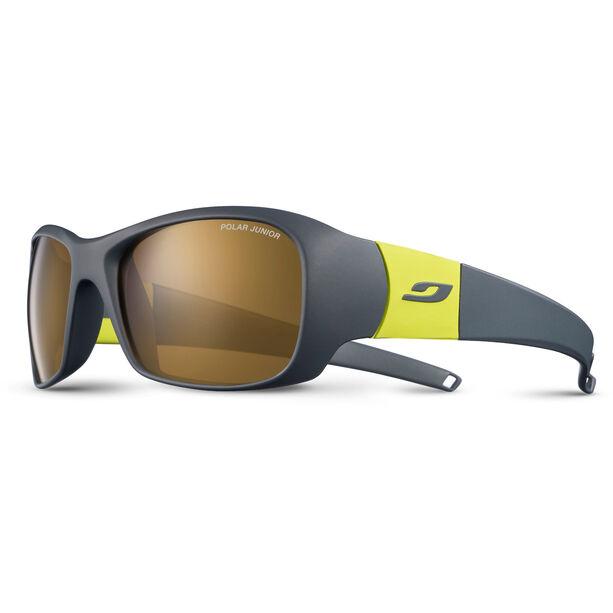 Julbo Piccolo Polar Sunglasses 8-12Y Kinder darg gray/yellow-brown