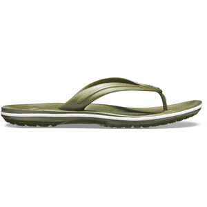 Crocs Crocband Flip Sandals army green/white army green/white