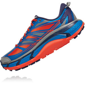 Hoka One One Mafate Speed 2 Schuhe Herren imperial blue/mandarin red imperial blue/mandarin red