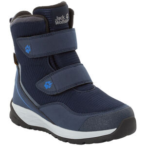 Jack Wolfskin Polar Bear Texapore High VC Schuhe Kinder dark blue/light grey dark blue/light grey