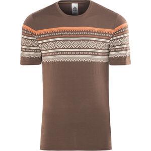 Aclima DesignWool Marius T-Shirt Herren fondue fudge fondue fudge