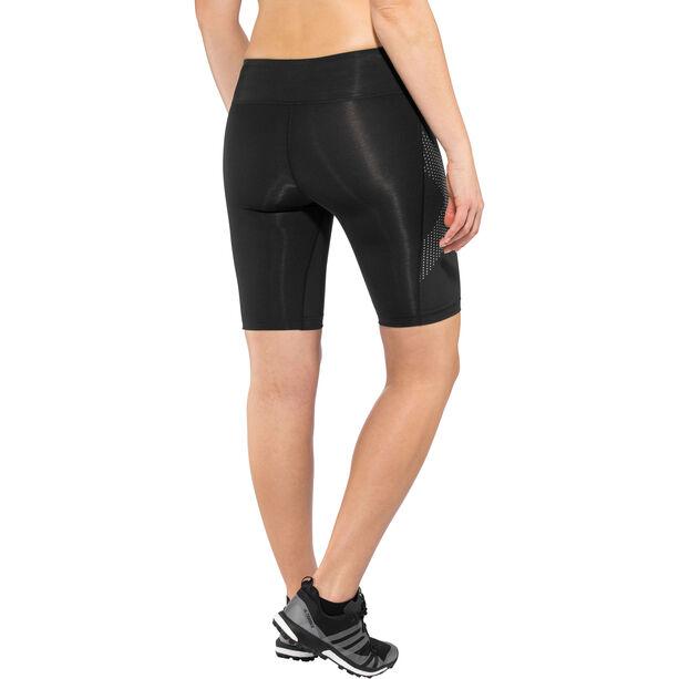 2XU Mid-Rise Compression Shorts Damen black/dotted reflective logo