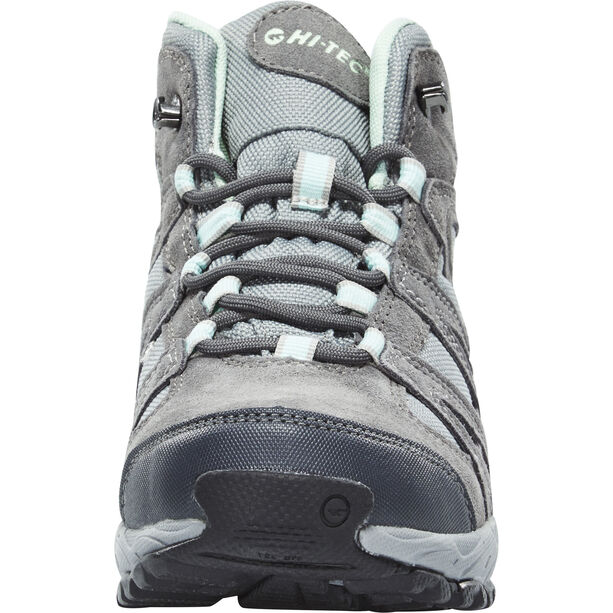 Hi-Tec Alto II Mid WP Schuhe Damen steel grey/grey/lichen