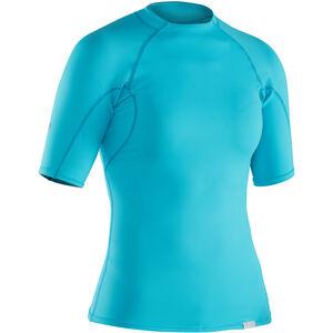 NRS H2Core Rashguard Shortsleeve Shirt Damen blue atoll blue atoll