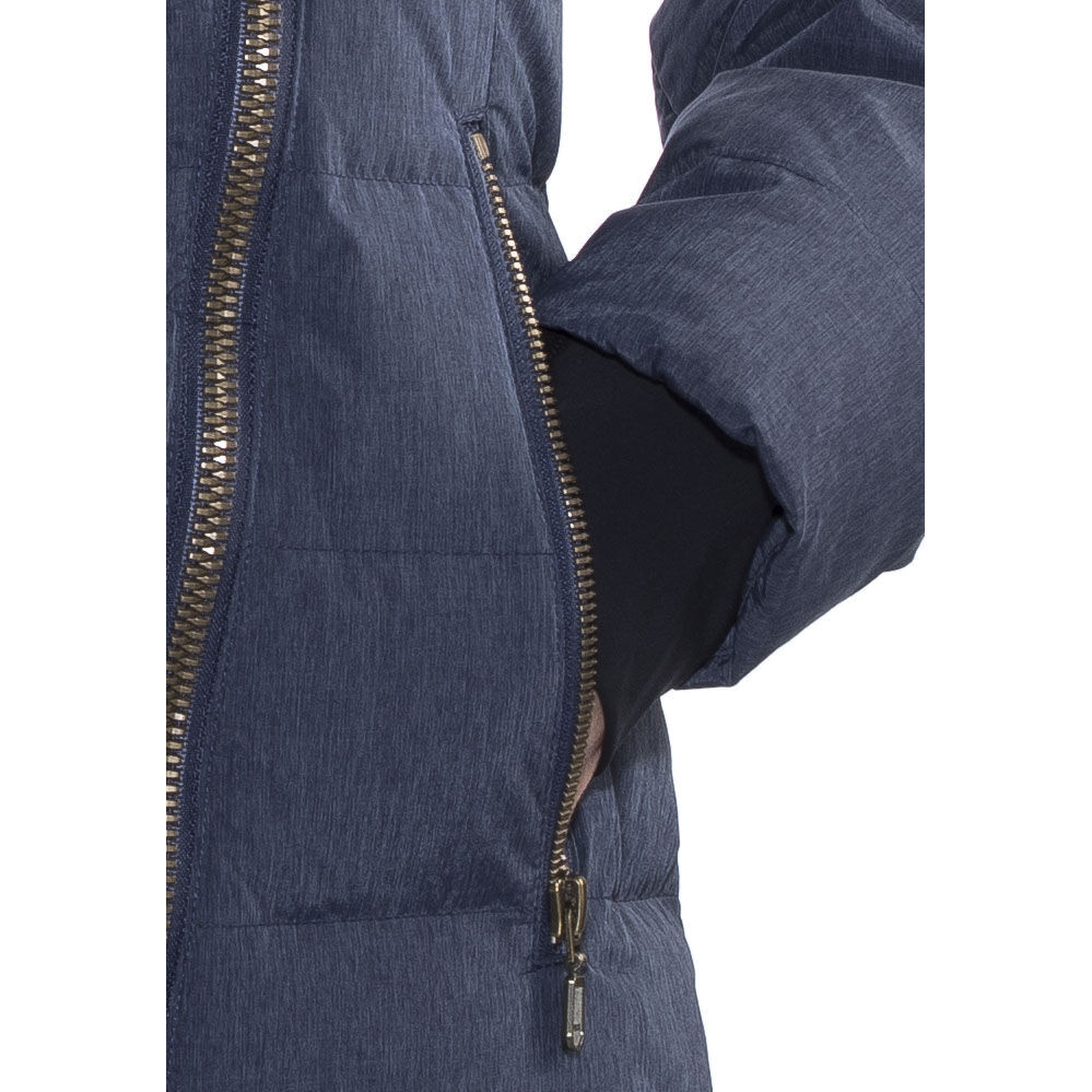 Down Bodø navy Coat Damen Bergans JTK1cFl3
