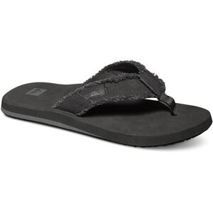 Quiksilver Monkey Abyss Sandals Herren black/black/brown