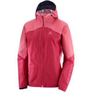 Salomon Outline Jacke Damen rio red rio red
