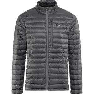 Rab Microlight Jacket Herren beluga/dijon beluga/dijon