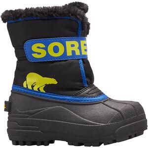 Sorel Snow Commander Stiefel Kleinkind black/super blue black/super blue