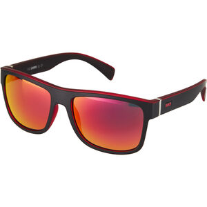 UVEX LGL 21 Glasses black/mat red/red black/mat red/red