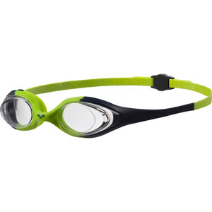 arena Spider Goggles Kinder navy-clear-citronella navy-clear-citronella