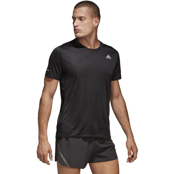 adidas Run Kurzarm T-Shirt Herren black