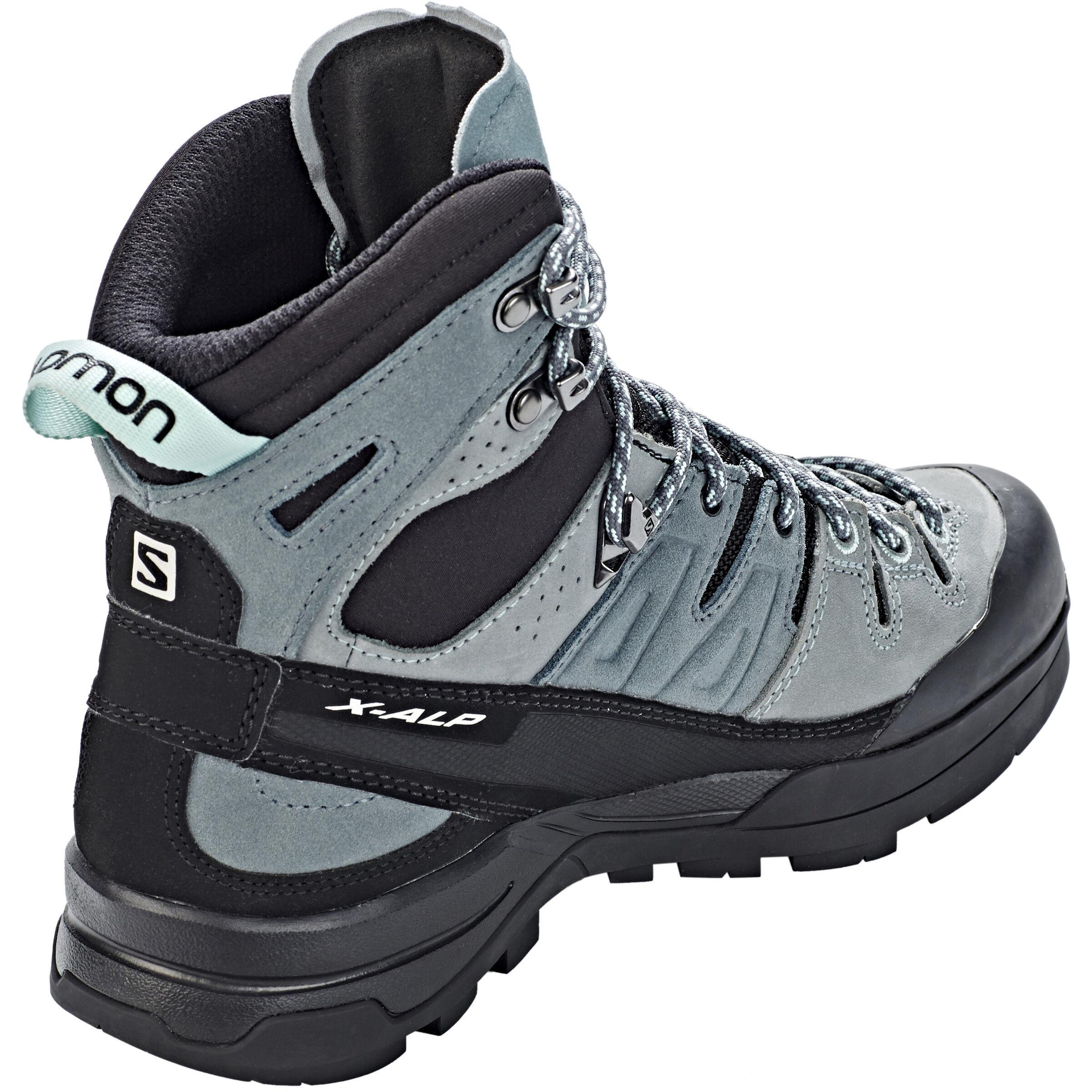 Salomon X Alp High LTR GTX Shoes Damen leadstormy weatherbeach glass