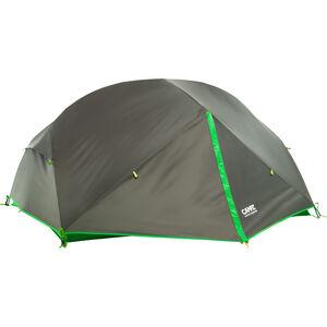 CAMPZ Lacanau 3P Zelt dunkelgrau/grün dunkelgrau/grün